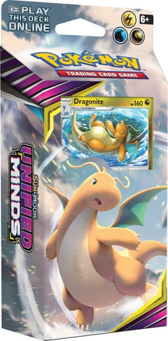 Pokemon TCG: Unified Minds Theme Deck- Dragonite