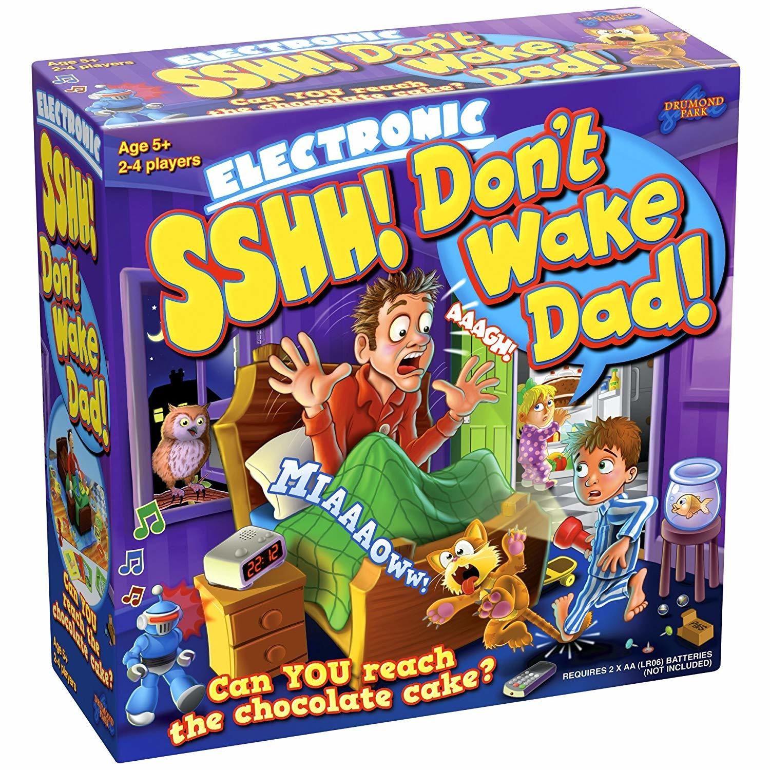 Don't Wake Dad - Children's Game