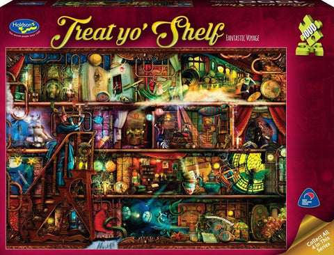 Holdson: 1000 Piece Puzzle - Treat Yo'Shelf (Fantastic Voyage)