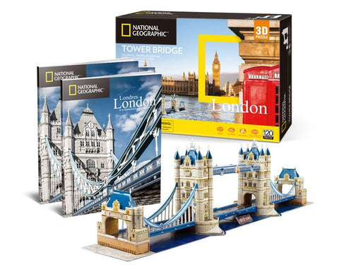 Cubic Fun: Tower Bridge 3D Puzzle - London
