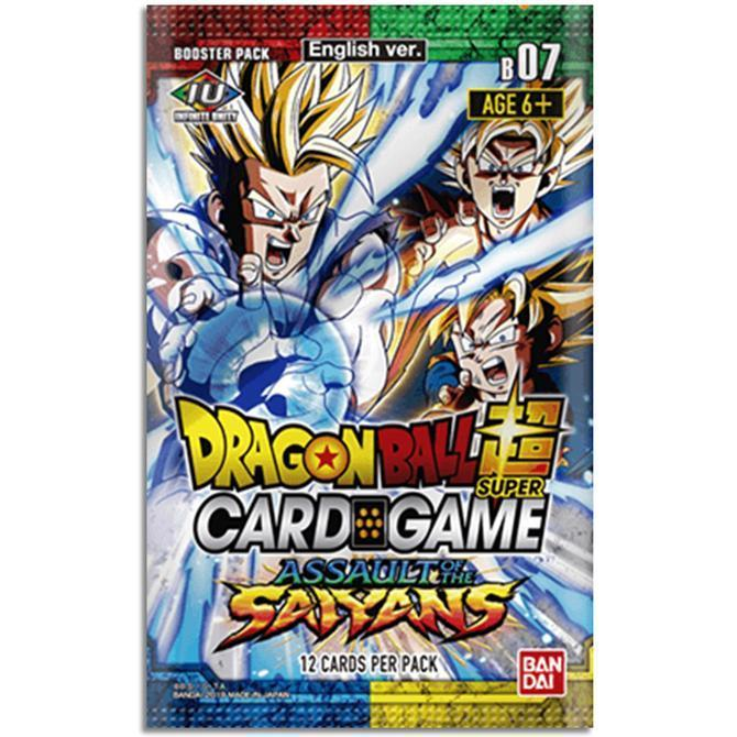 Dragon Ball Super TCG: Series 7 Assault of the Saiyans Single Booster