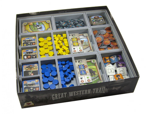 Folded Space: Game Inserts - Great Western Trail (V2)
