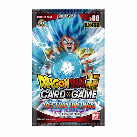 Dragon Ball Super TCG: Series 6 Single Booster