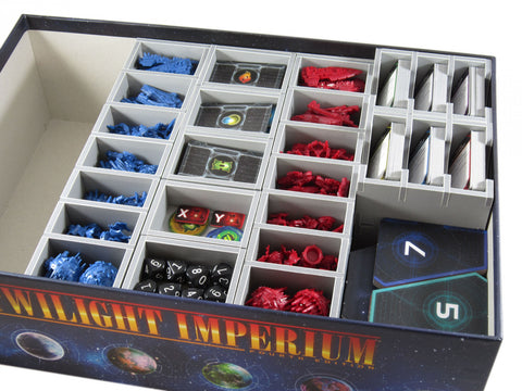 Folded Space: Game Inserts - Twilight Imperium (4th Edition)