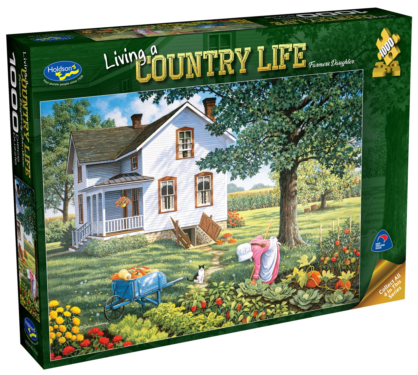 Holdson: 1000 Piece Puzzle - Living a Country Life (Farmer's Daughter)