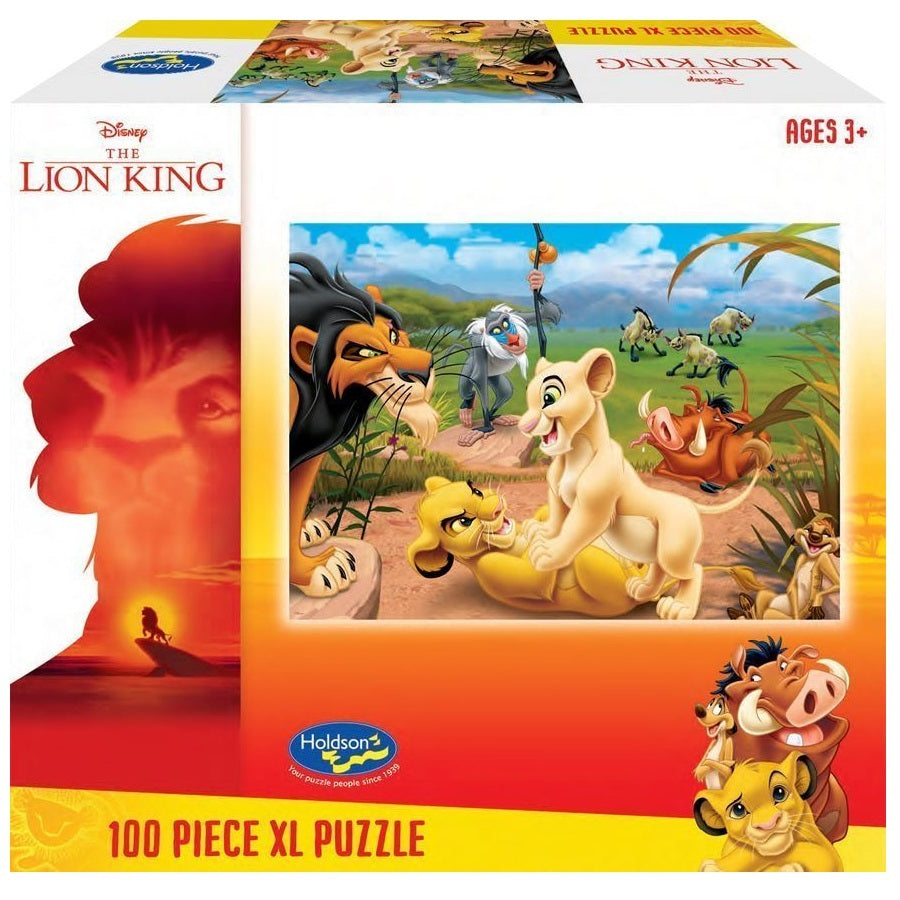 Holdson XL: 100 Piece Puzzle - Lion King (Simba's Pride)