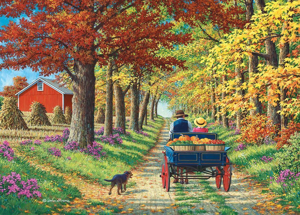 Holdson: 1000 Piece Puzzle - Living a Country Life (Shady Lane)