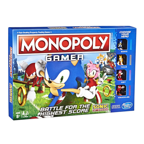 Monopoly Gamer - Sonic the Hedgehog Edition