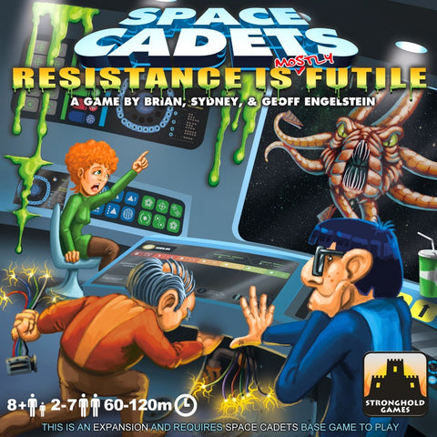 Space Cadets: Resistance Is Mostly Futile - Game Expansion