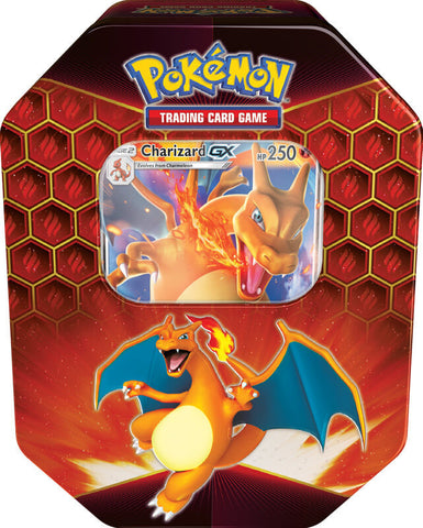 Pokemon TCG: Hidden Fates Tin- Charizard-GX