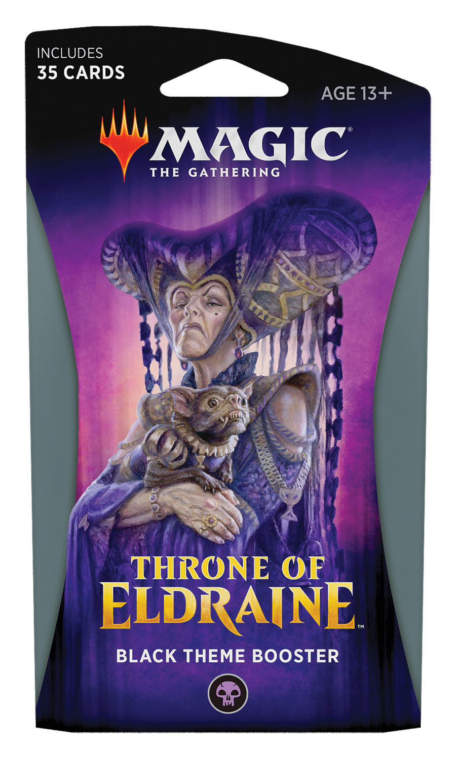 Magic The Gathering: Throne of Eldraine Black Theme Booster
