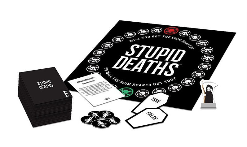 University Games: Stupid Deaths - Party Game