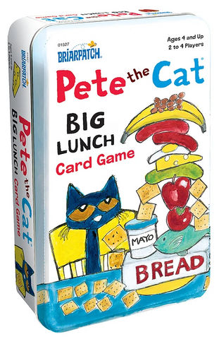 Pete the Cat: Big Lunch - Card Game Tin