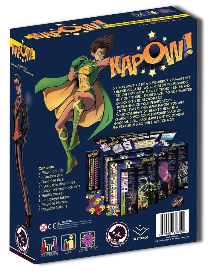 Kapow! - Comic-Book Inspired Dice Game