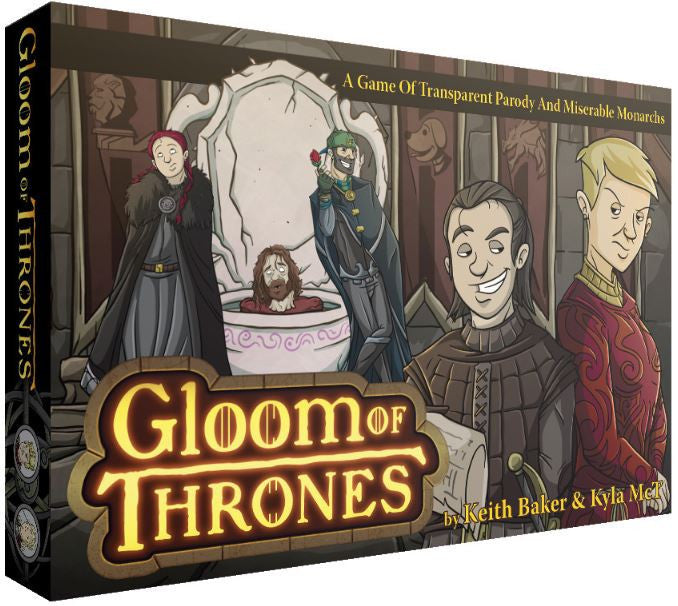 Gloom of Thrones - Story Telling Game