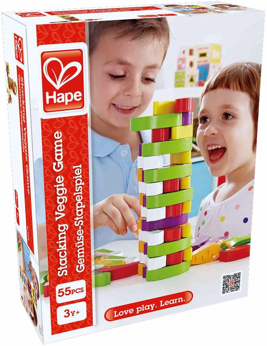Hape: Stacking Veggies - Children's Game