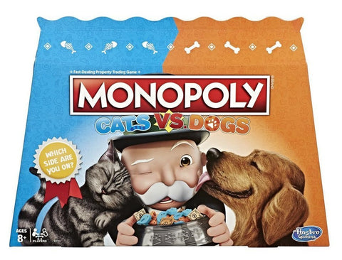 Monopoly: Cats Vs. Dogs - Board Game