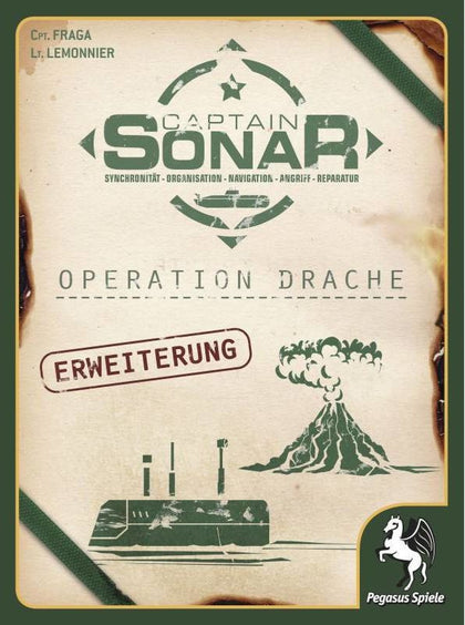 Captain Sonar: Operation Dragon - Expansion