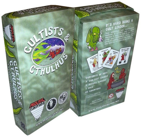 Cultists & Cthulhu - Card Game