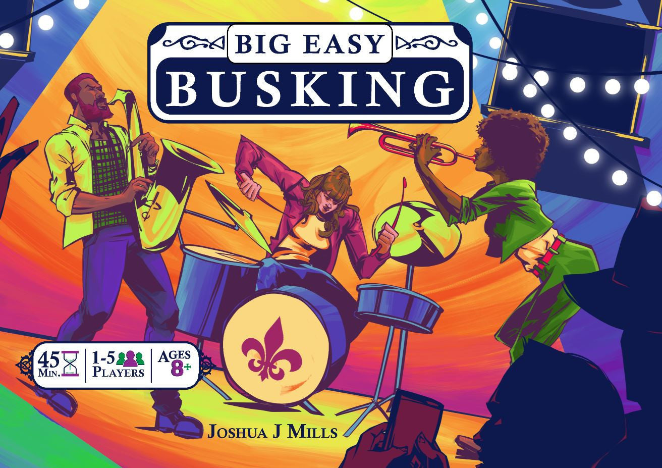 Big Easy Busking - Card Game
