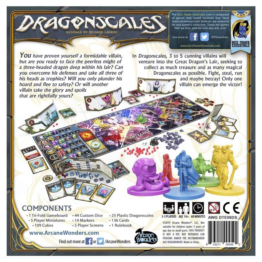 Dragonscales - Board Game
