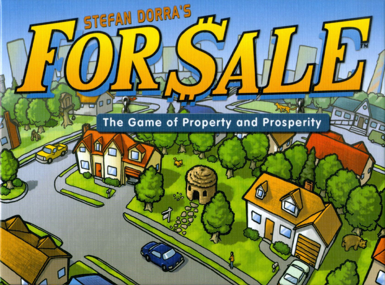 For Sale! - Board Game