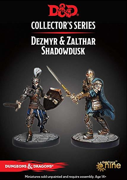 Dungeons & Dragons Dungeon of the Mad Mage - Zalthar & Dezmyr Shadowdusk