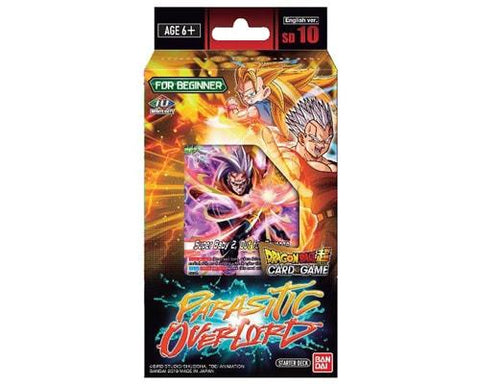 Dragon Ball Super TCG: Series 8 Starter Deck- Malicious Machinations Parasitic Overlord