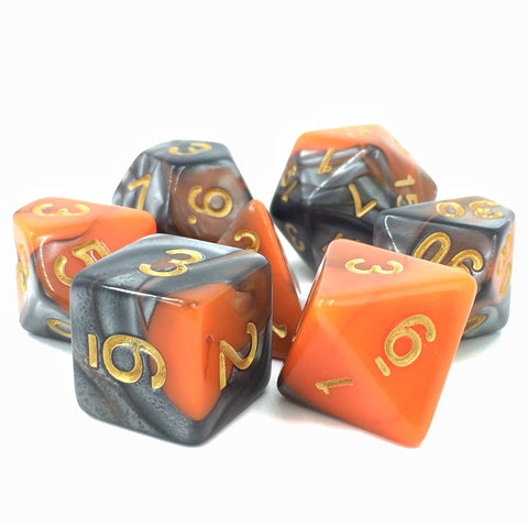 Waylander's Forge Fusion Polyhedral Dice Set