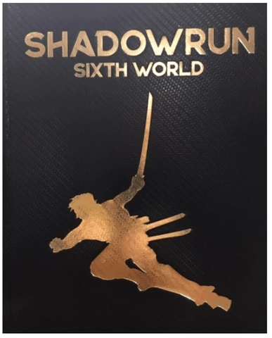 Shadowrun RPG: 6th Edition - Limited Edition Core Rulebook (Sixth World)