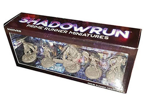 Shadowrun RPG: 6th Edition - Prime Runner Miniatures