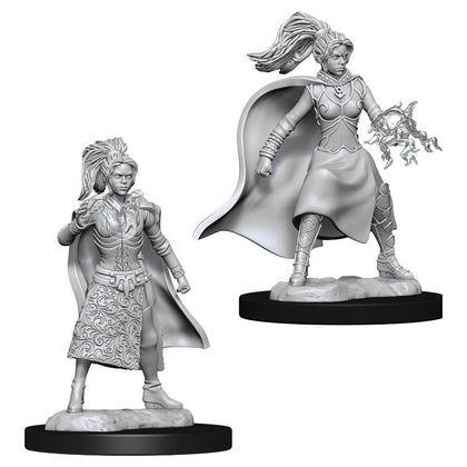 D&D Nolzur's Marvelous: Unpainted Miniatures - Female Human Sorcerer