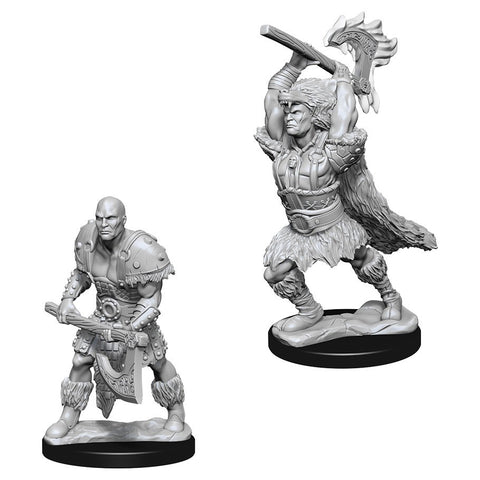 D&D Nolzur's Marvelous: Unpainted Miniatures - Male Goliath Barbarian