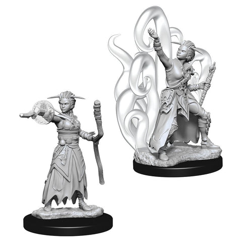 D&D Nolzur's Marvelous: Unpainted Miniatures - Female Human Warlock