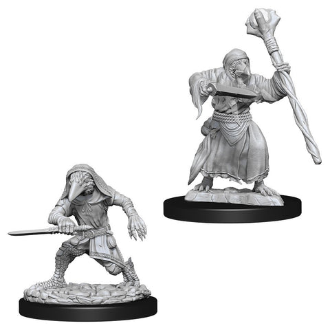 D&D Nolzur's Marvelous: Unpainted Miniatures - Kenku Adventurers
