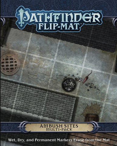 Pathfinder RPG: Flip-Mat - Ambush Sites Multi-Pack