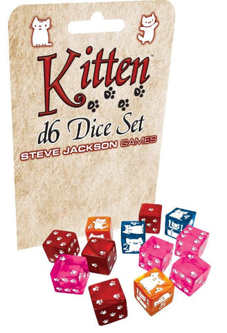 Kitten - D6 Dice Set