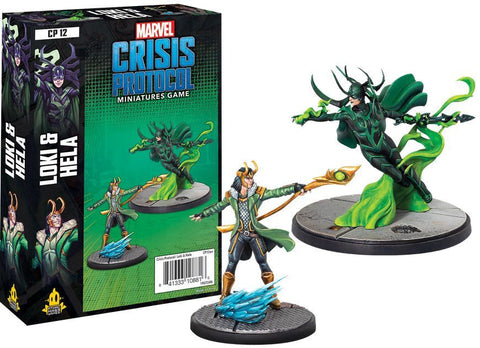 Marvel Crisis Protocol Miniatures Game Loki and Hella Expansion