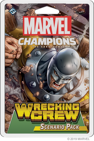 Marvel Champions - The Wrecking Crew Scenario Pack