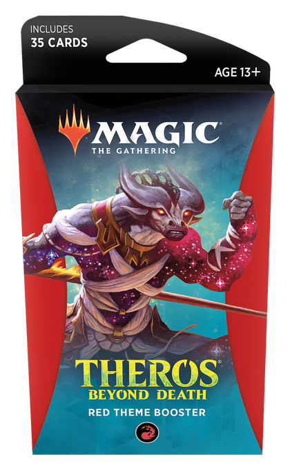 Magic The Gathering: Theros Beyond Death Theme Booster- Red
