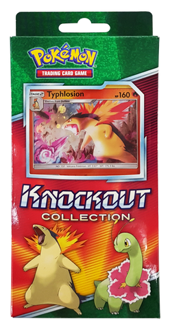 Pokemon TCG: Knockout Collection- Typhlosion