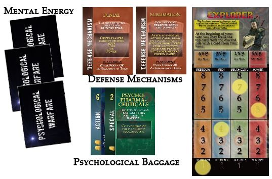 Psychological Warfare - Card Game (4th Edition)