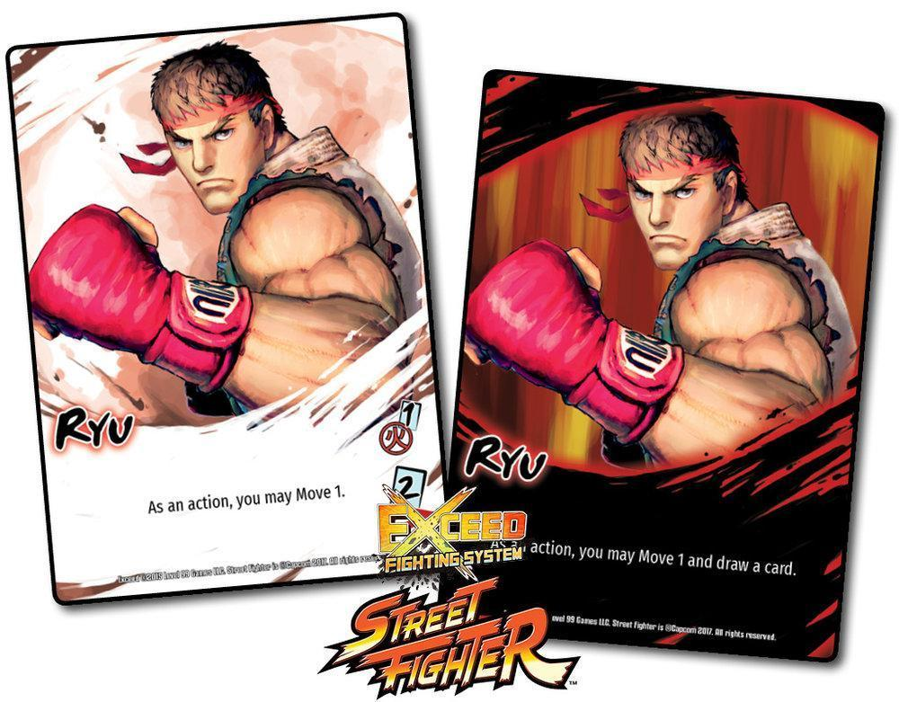 Exceed: Street Fighter - Ryu Box