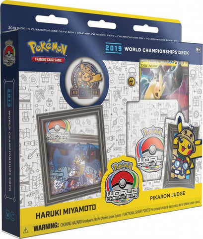 Pokemon TCG 2019 World Championship Deck: Pikarom Judge