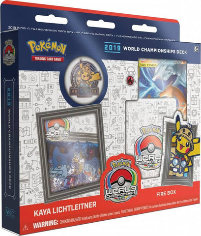 Pokemon TCG 2019 World Championship Deck: Fire Box