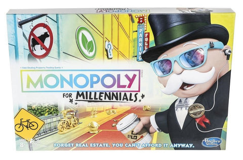 Monopoly for Millennials - Board Game