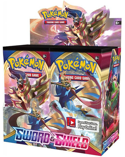 Pokemon TCG: Sword and Shield Booster Box