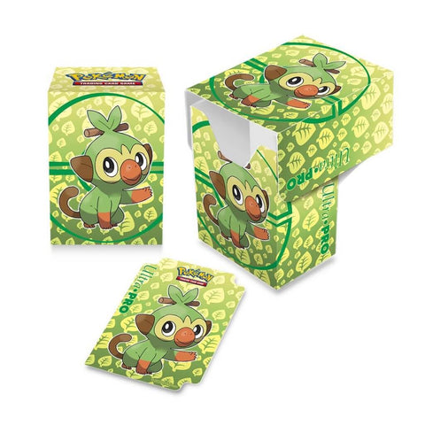 Ultra Pro: Full View Deck Box- Sword and Shield Galar- Grookey