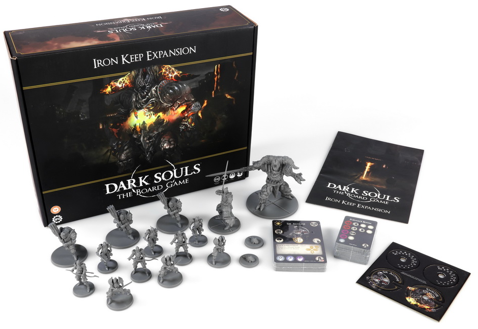 Dark Souls: The Board Game - Iron Keep Expansion