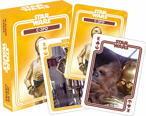 Star Wars - C3PO Playing Cards